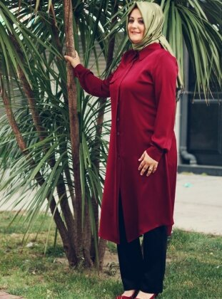 Ceren Tunik - Bordo